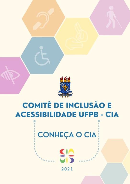 CARTILHA DE BOAS VINDAS DO COMITÊ DE INCLUSÃO E ACESSIBILIDADE UFPB